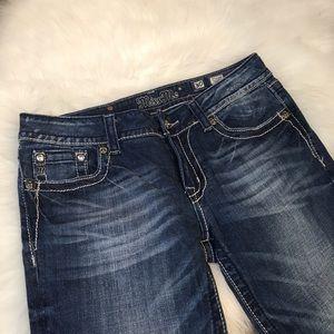 Miss Me Jeans - Miss Me Dark Wash Capri